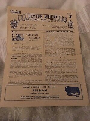 Official Football Programme