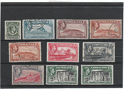 Gibraltar GVIth mint/used selection