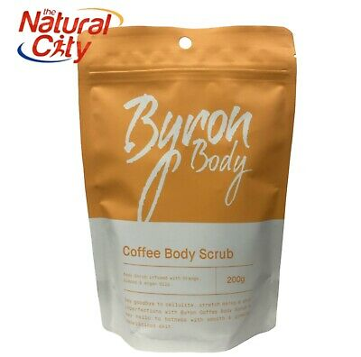 Arabica Coffee & Coconut Body Scrub Reduce Cellulite Acne Stretch Marks + More