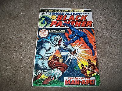 Jungle Action 5 1St Solo Black Panther Hard To Find Movie Key!