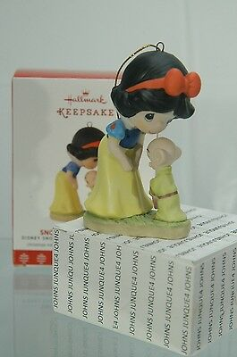 Snow White And Dopey Hallmark Ornament 2017 Buy Now New Low Price~Free Us Ship