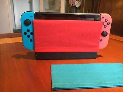 Nintendo Switch Dock Sock Cover Protector - Red