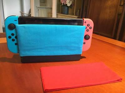 Nintendo Switch Dock Sock Cover Protector - Blue