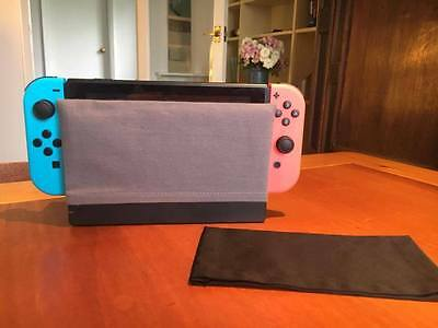 Nintendo Switch Dock Sock Cover Protector - Grey