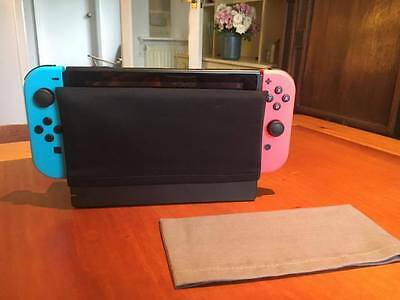Nintendo Switch Dock Sock Cover Protector - Black