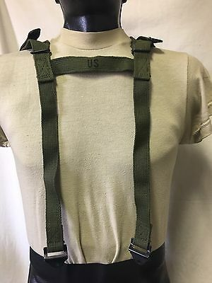 Us Military Issue Vietnam Era Strap Assembly Carrying Sleeping Bag