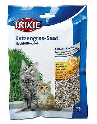 Trixie Bag Of Cat Grass Seeds Approx. 100 G Grow Your Own