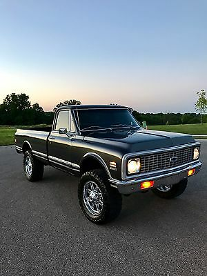 1971 Chevrolet C/K Pickup 1500 Cheyenne Super 1971 Chevy K10 - Custom Restoration
