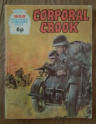 Fleetway Battle Picture Library No.713 Corporal Crook 1971