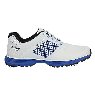 Stuburt 2017 Gents Helium Tour eVent Spikeless Golf Shoes in White Uk Size 9