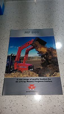 MF Massey Ferguson Agco 800 series tractor loaders
