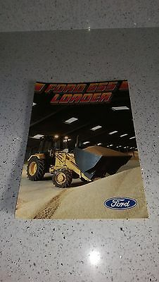 Ford New Holland 655 tractor loader brochure