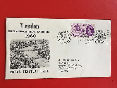 Great Britain 1960 London International stamp Exhibition first day cover