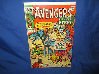 The Avengers #83 1st Appearance Of Valkyrie  Marvel Comics