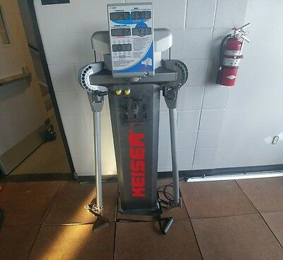 Keiser Power Rack and 2 Functional Trainers