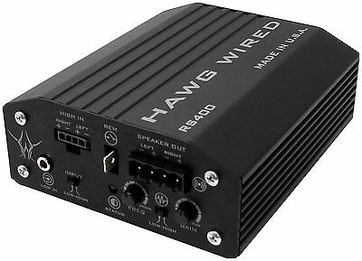 Hawg Wired 400W Reference Amplifier  Harley Touring MPN RS400