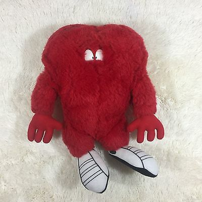 """Applause Looney Tunes Gossamer Red Monster Heart Doll Plush Stuffed Big Toy 17"""""""