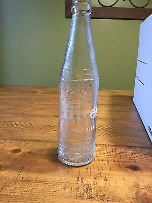 Vintage Hires root beer bottle