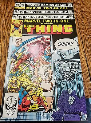 marvel two in one featuring the thing #96 lot of 3