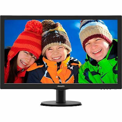 "Philips 273V5LHAB 27"" LED LCD 5MS FHD 1080P 16:9 HDMI DVI VGA Computer Monitor"