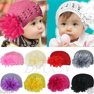 Infant Baby Toddler Hair Accessories Girl Flower Headband Hair Band Headwear Hat