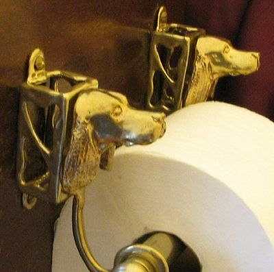 ENGLISH SPRINGER SPANIEL Toilet Paper Holder OR Paper Towel Holder!