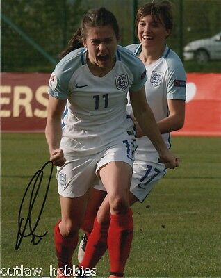 England World Cup Karen Carney Autographed Signed 8x10 Photo COA A