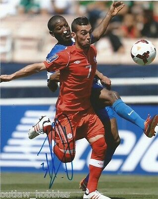Team Canada Russell Teibert Autographed Signed MLS 8x10 Photo COA B