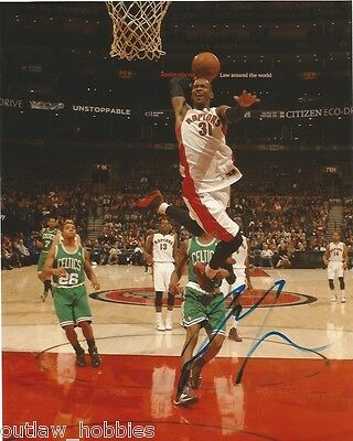 Toronto Raptors Terrence Ross Autographed Signed 8x10 Photo COA