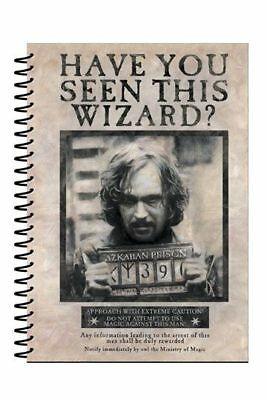 Harry Potter : SIRIUS BLACK A5 SPIRAL NOTEPAD from Pyramid