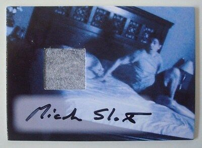 2010 *PARANORMAL ACTIVITY* Movie Autograph-Costume/Relic Card SLOAT SDCC Excl