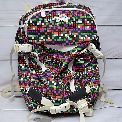 The North Face Backpack Bag BETTY Women Snow Colorful Checks