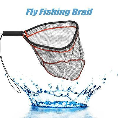 Aluminum Landing Nets Catch and Release Net for Fly Trout Kayak Fishing