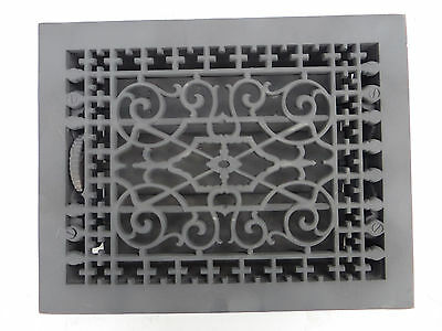 Antique Victorian Ornate Cast Iron Floor Heat Register By Tuttle And Baily 1886