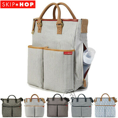 New SKIP HOP Duo Special Edition Diaper Bag Nappy Storage with changing mat pad