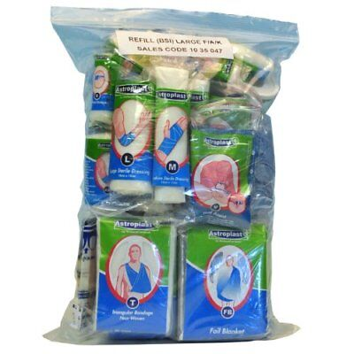 Astroplast Refill Bag First Aid Pack R42 100 x 140 x 5mm