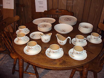 Taylor Smith & Taylor China place setting of 8 weather vane print
