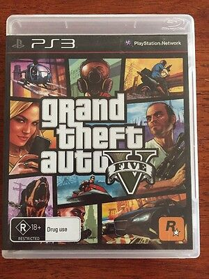 Grand Theft Auto 5 Complete PS3 Sony PlayStation 3