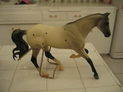 Breyer Reeves Molding Gray Black And White With Spots Horse Figurine Statue