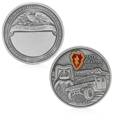 25th Infantry Division Army Commemorative Challenge Coin Collection Novelty Gift