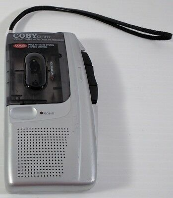 Coby Micro Cassette Player Recorder CX-R122 Not Working For Parts