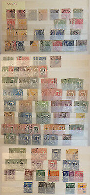 Finland (Suomi) 1875-1946 - collection of 228 stamps Scott 447$