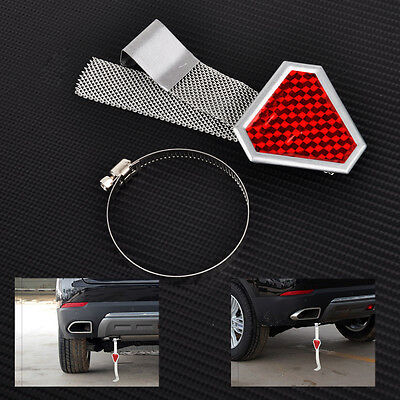 Red Reflector Car Vehicle Anti Static Reflective Belts Earth Strap Ground Wire
