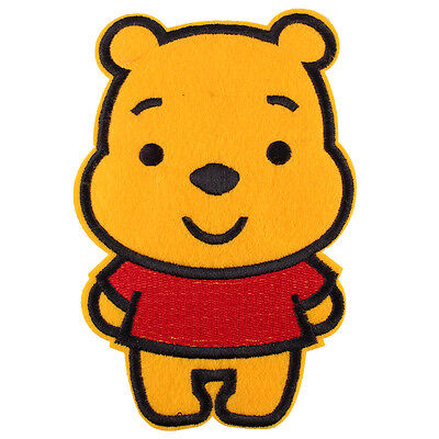 "The Winnie the Pooh Bear Huge Embroidered Iron/Sew ON Patch 5.9""X 3.8"""