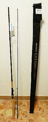 CANNA SPINNING SHIMANO CATANA DX 240MH 2,40 mt 14-40 gr IN CARBONIO PESCA - SH2