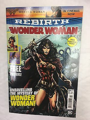 Wonder Woman Comic Dc Issue 2 August 2017 Rebirth Unravelling The Mystery Story