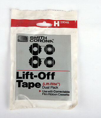 Smith Corona Lift-Off Tapes H59048 Dual Pack