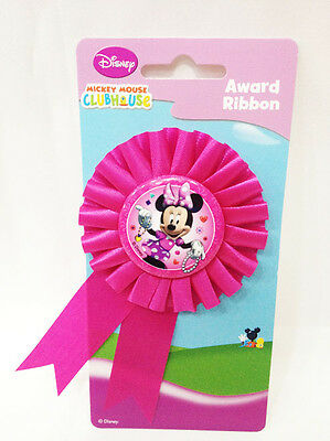 Coccarda Minnie Mouse Rosa