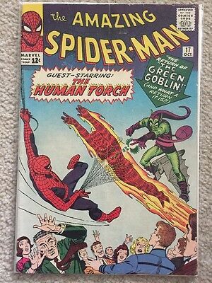 Amazing Spider-Man 17, Marvel Comics, Silver Age