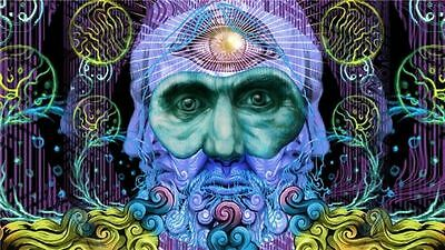 "Trippy-Art Print Digital Miscellaneous Psychedelic 21X13"" Silk Wall Poster P39"